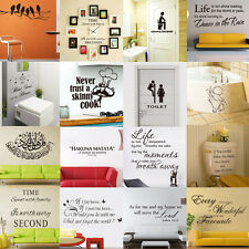 PVC Removable Room Vinyl Decal Art Wall Sticker Home Decor DIY Wallpaper