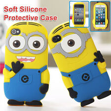 Despicable Me Minion 3D Soft Silicone Protective Case for Apple iPhone6 5S 5 5C