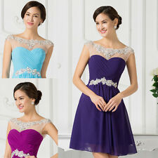 CHEAP Homecoming Short Bridesmaid Dress Prom Gown Evening Formal Party Ball Prom