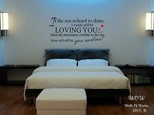 Led Zeppelin - Thank You Lyrics Wall Art Sticker/Decals Music Lyrics