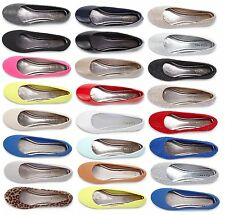 NEW SIMPLE Womens Casual Comfort Soft Slip On Ballet Flats Shoes Ballerina Ladie
