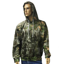 Big and Tall Camo Sage Hooded Sweatshirts Small - 12XLT USA Made