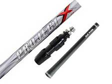 PROJECT X PXV WOOD SHAFT FITTED WITH ADAPTOR SLEEVE TIP & GRIP (Choose Specs)