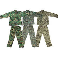 ARMY COMBAT TROUSERS & SHIRT: Airsoft/Paintball Trousers/Shirt/Uniform Camo Kit