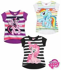 My Little Pony T Shirt Top Girls Age 4 6 8 10 Years New Official 100% Cotton