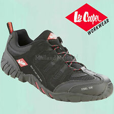 Lee Cooper Steel Toe Cap Safety Trainer. The Best Shoe, Boot. Size 3 - 12, LC008