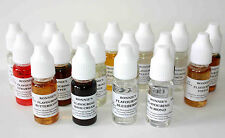 Edible Concentrated Liquid Food Flavourings, Baking, Icing, Sweets, Drinks