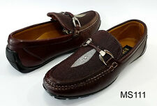 Men Exotic Leather Shoes Queen Stingray Vamps 7 7.5 8 8.5 9 9.5 10 10.5 11 11.5