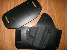Walther IWB/OWB Kydex/Leather Hybrid Holster with adjustable retention