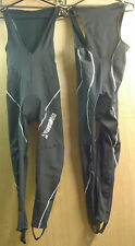 THERMO PADDED ROUBAIX BIB TIGHTS FOOTLOOPS M to 4XL UK P&P FREE