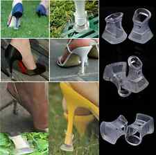 1x Footful Clear Stiletto High Heel Protectors Covers Shoes Stoppers S M L