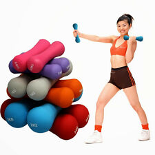 Colorful Dumbbell Aerobics Exercises Fitness Equipment Lose Weight Slim Bell New