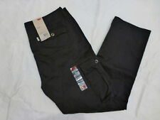 NWT MENS LEVIS CARGO I RELAXED FIT PANTS $64 BLACK 12462-0011