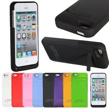 2200mAh External Battery Pack Power Bank Backup Charger Case For iPhone 5s 5 5th