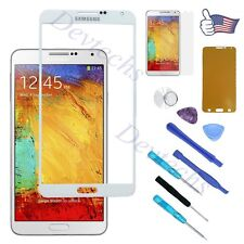 White Front Lens Screen Glass Replacement Part for Samsung Galaxy Note 3 N9000