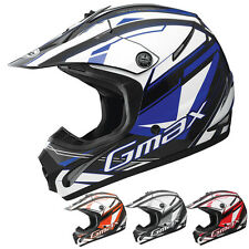 GMax GM46.2 Traxxion Youth Motocross Dirt Bike Off Road Helmets