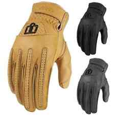 2015 Icon One Thousand Mens Rimfire Motorcycle Street Riding Cycle Hog Gloves