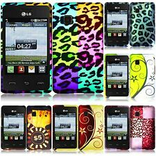 LG 840g Cover Case Hard Snap-On 2-Piece Cover Cover