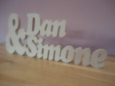 De Madera words/letters/valentine / Free Standing Personalizado name/word wedding/gift