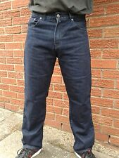 Motorcycle Motorbike DARK BLUE Denim jeans protective lining CE Armour Trousers