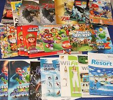 Nintendo Wii Game Manuals - A to Z