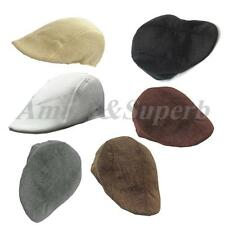 Cool new Mens Retro Flat Cap Peaked Baker Racing Beret Hat Country Golf Newsboy