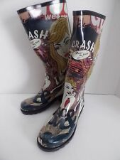 Womens Rain Boots My Girl Pattern Henry Ferrera New York New Pattern