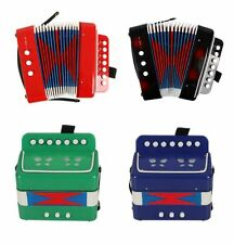 Hot Sale Kids Instrument Music Accordion Button Piano Toys Gift For Children