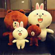 Cheap High Quality Super Lovely  Brown Bear Cute Cony Rabbit Plush Toy Gift