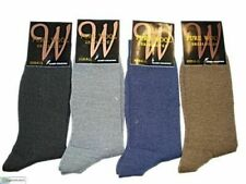 MENS Pure Wool Business Dress SOCKS size 6-11 Grey Black Navy Brown
