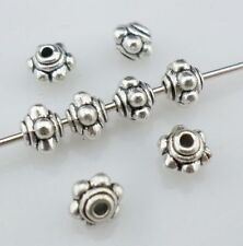 100/600pcs Tibetan Silver Small Lantern-shaped Spacer Beads 5x4mm(Lead-free)