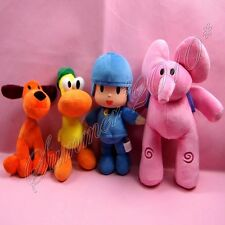 New Animal POCOYO Elly/Pato/POCOYO/Loula Stuffed Plush Toys Dolls Kids Gift New