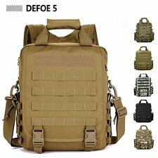 Sustainment Advance Army Durable Tactical Backpack Messenger Shoulder Tote Bag
