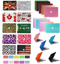 """2in1 Rubberized Matte Hard Cut-Out Case Cover for MacBook AIR 11""""13""""/PRO13""""15"""" &"""