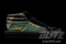 Supreme X VANS SK8-MID REISSUE WOODLAND CAMOUFLAGE CAMO Sizes 8-13 SS15