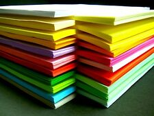 A4 Coloured Paper / Card Multi Use Printing Copier Cardmaking Colour Craft Sheet