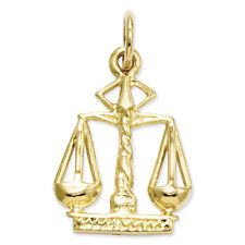 14k Yellow or White Gold Scales Of Justice Charm JG-128994