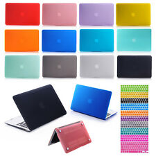 Rubberized Case + Keyboard Cover For Apple Macbook Air / Pro / Retina11 12 13 15