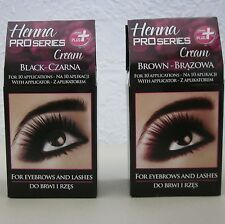 HENNA Colour Cream  for EYEBROWS and LASHES - FREE FAST SHIPPING!!!