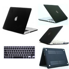 """Rubberized Matte Hard Case keyboard Cover for MacBook AIR 11""""/ PRO 13 15 Retina"""