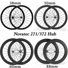 700c 38mm clincher bike carbon road bike wheels carbon fiber racing wheelset