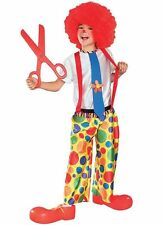 Child Chuckle King Clown Costume Rubies 881059 Brand New