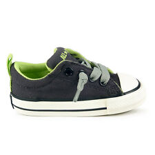 Infants Converse Chuck Taylor Street Slip On N Iron Trainers