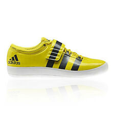 Adidas Shot Put Mens Yellow Casual Walking Sports Support Shoes Trainers New