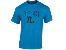 Who Ate All The Pies Mens Maths Funny T-Shirt (12 Colours)