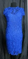 Danny Couture Lace Party Dress white, pink, red, royal size 8, 10,12, 14, 16, 18