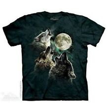 The Mountain Brand Three Wolf Moon Howl T-Shirt S-5X