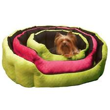 Slumber Pet Dimple Reversible Plush Nesting Dog  pet Bed