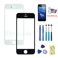 for Apple iPhone 5S Front Outer Screen Glass Lens Replacement Repair Kit Tools