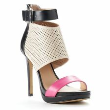 Juicy Couture Women's Perforated Platform High Heels - Assorted Sizes